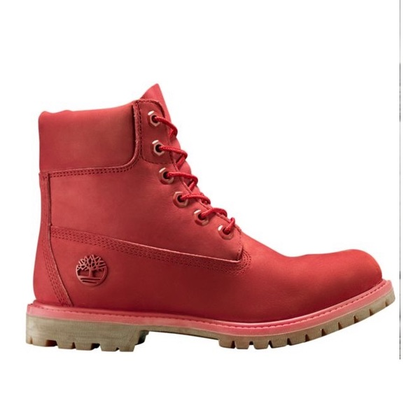 7d1cce3da30 Limited Release Ruby Red Timberland Boots